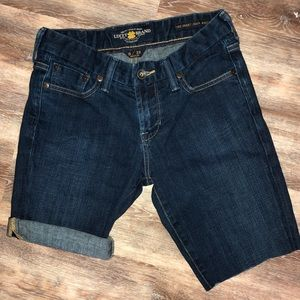 Lucky Brand The Sweet Jean Bootcut off shorts 0/25